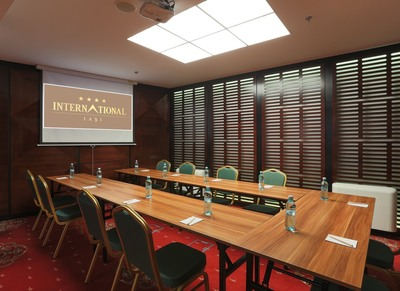 Meeting room at Hotel International in Iasi, Romania
